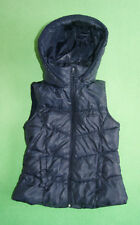 Zara navy blue gilet bodywarmer vest for girl age 9 years 134 cm size M