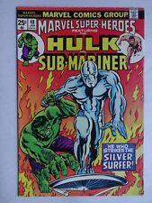 Marvel Super-Heroes #48   Hulk   Sub-Mariner   Silver Surfer   Stan Lee (writer)