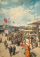 Cartolina di Milano, fiera (viale Commercio e largo Nazioni) - 1964