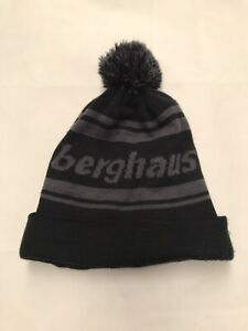 berghaus Berg Beanie Hat Carbon/Black One Size - S127