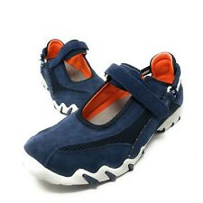 ALLROUNDER By Mephisto Navy Blue Suede Active Mary-Janes Sneakers Size 10 Euc