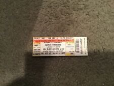 2003 Justin Timberlake ticket from State theatre- detroit