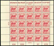 630, Mint LH VF White Plains Souvenir Sheet NO RESERVE! - Stuart Katz