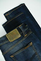 RRP €199 NUDIE LEAN DEAN PEEL BLUE Men's W29/L32 Organic Stretch Jeans 4254_mm