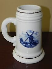 Blue Delft Lithophane Beer Stein