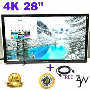 SAMSUNG 28Inch 4K Ultra-HD LED-Lit Monitor U28E590D FREE HDMI w/o stand Grade B