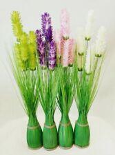 Fleurs artificielles et séchées de décoration intérieure guirlandes en plastique
