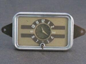 Original 1940 Chevrolet Accessory Glove Box Clock