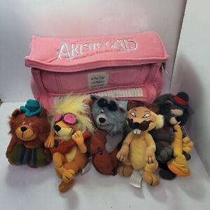 "Disney 1999 Aristocats  7"" Plush Beanie Babies Piano Set"