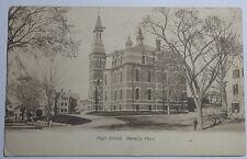 1916 Postcard Of High School Beverly Massachusetts To Cambridge
