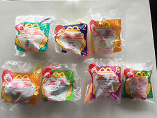 Winnie The Pooh McDonald's Happy Meal Toys 7 Lot New Mint Condition!