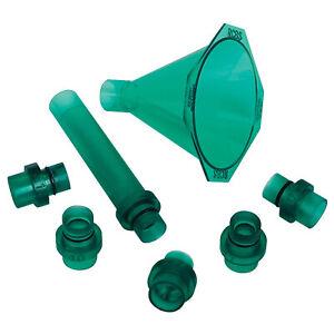 RCBS Multi Caliber Universal Quick Change Powder 5 Funnel/1 Drop Tube Kit 9190