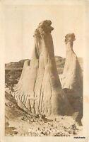 C-1910 Glendive Montana Badlands RPPC Real Photo postcard 2675