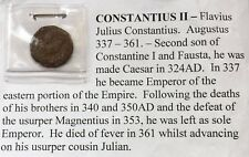 Roman Coin Constantius II 337-361 AD