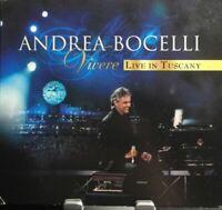 Andrea Bocelli Vivere Live In Tuscany CD + DVD