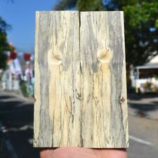 119GR Exotic Wood Spalted Wood Blank Knife Handle Scales Pistol Grip 60103799