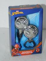 Marvel Avengers Bottle Opener & Bottle Stopper Set Metal Spider-Man
