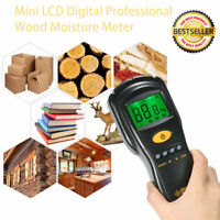 AS981 Non-contact Wood Moisture Meter Digital Hygrometer Humidity Tester Tool