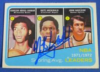 NATE ARCHIBALD signed autograph auto 1972-73 Topps KC Kings NBA Scoring Leaders