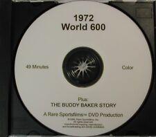 1972 NASCAR World 600 at Charlotte - Buddy Baker in COLOR on DVD!