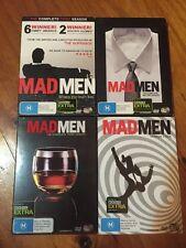 Mad Men Complete Series 1 2 3 4 DVD Region 4