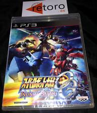 SUPER ROBOT TAISEN WARS OG Original Generation INFINITE BATTLE PlayStation 3 PS3