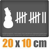 Schneemann Killer 20 x 10 cm JDM Decal Sticker Aufkleber Scheibe Auto Car Weiß