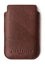LIEBESKIND BERLIN Handy-Hülle, Leder, B8 x H13 x 0,5 cm Smart Fon, rot braun