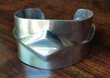 Vintage 925 Mexico Sterling Silver Cuff Bracelet TQ-07, 1.5 oz of silver