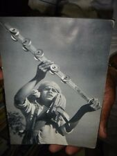 INDIA RARE - PRINT - SADHU ENJOYING BHAJAN WITH HAND MUSIC