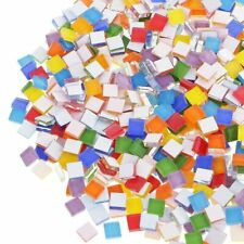 110 Pcs MIXED COLOR MIRROR GLASS MOSAIC TILE/TILES DIY CRAFT SUPPLIES Accessory