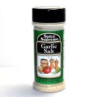 3x Spice Supreme® GARLIC SALT New FRESH stock USA MADE spices cooking seasoning