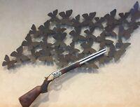 Rifle Replica Wood Resin 3D Wall Farmhouse  Very Detailed Decorative Western Art
