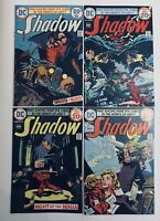 THE SHADOW DC Comics 1970's #4, #5, #6, #7; Lot of Four