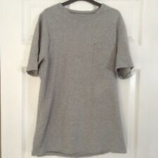 Mens Next Grey cotton crew neck t-shirt, size Small