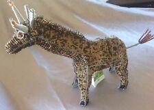 Beadworx Grassroots Art Creations Sculpture Giraffe 9� Tall