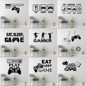 Fortnite Gamer Gaming Vinyl Decal Sticker Wall Art Mural