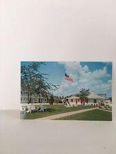 Pleasant Hill NC Warren's Motel & Restaurant Vintage Postcard - North Carolina