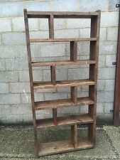 The Zig Zag! Industrial Up-Cycled Pigeon Hole Shelving Unit