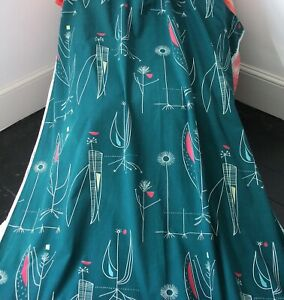 Vintage LUCIENNE DAY 1956 'HERB ANTHONY' Design Fabric 245cm...