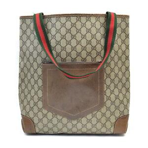 Gucci Tote Bag  Browns PVC 2000300