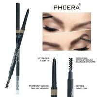 1*PHOERA Double Ends Eyebrow Pencil Ultra Thin Tip Auto Eyebrow Pen Long-lasting