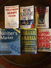 Screenwriting Book Lot Syd Field William Goldman Hollywood Script Screenplay
