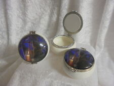 Midnight Vigil Ceramic Trinket Box Lisa Parker Cat Candle Jewellery Pill