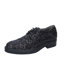 scarpe donna JANET & JANET 40 EU classiche nero glitter BY753-40