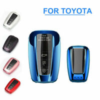 TPU Car Key Fob Case Cover Holder Shell For Toyota Camry CHR RAV4 Accessories