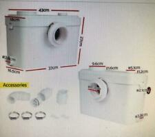 Toilet Macerator Sewerage Pump Waste Disposal Unit Auto Water Bathroom Flush