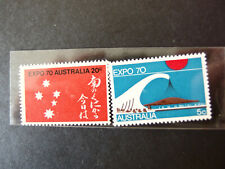1970 Expo '70 Stamp Issue - Australia Post Office Stamp Pack