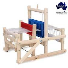 DIY Traditional Wooden Weaving Loom Craft Yarn Hand Knitting Machine Kids Toy
