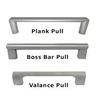 Modern Square Boss Bar Pull Handle Kitchen/Bath Cabinet Hardware Stainless Steel